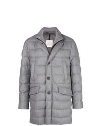 Grey Puffer Coat