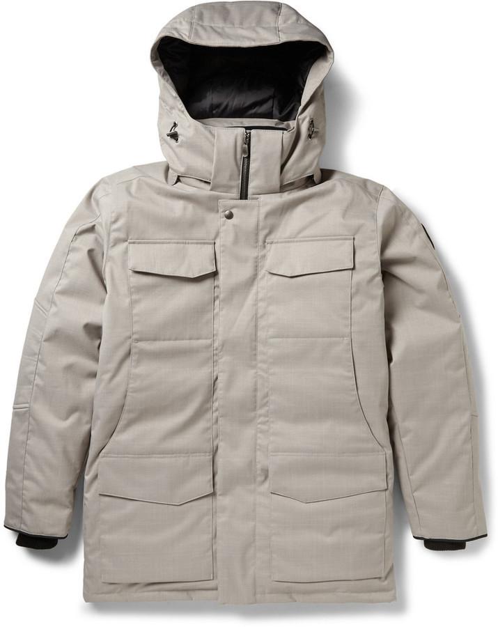 canada goose beige coat
