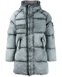 Stone Island Classic Stonewash Puffer Coat