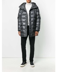 Dolce & Gabbana Crown Quilted Parka Coat