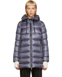 Grey down suyen coat medium 743316