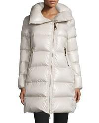 Joinville long asymmetric puffer jacket medium 708634
