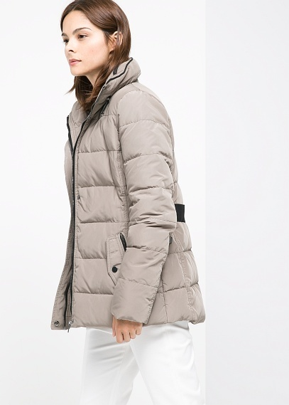 Mango Outlet Belted Feather Down Coat | Where to buy & how to wear
