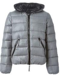 Grey Puffer Jacket