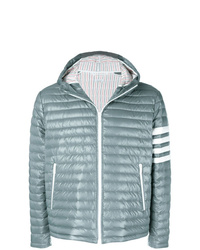 Thom Browne 4 Bar Stripe Satin Finish Quilted Down D Tech Jacket