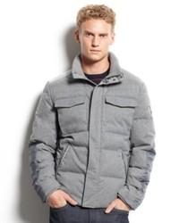 Calvin Klein Jacket Four Pocket Puffer Jacket