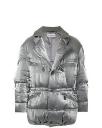 Issey Miyake Vintage Double Collar Metallic Puffer Jacket