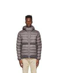 Moncler Grey Down Micy Jacket
