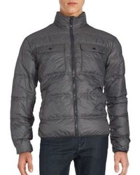 Hawke & Co Packable Long Sleeve Puffer Jacket