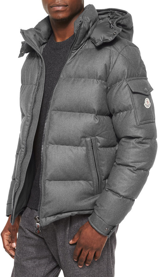 921fa015059 ... Moncler Montgenevre Quilted Down Jacket Gray ...