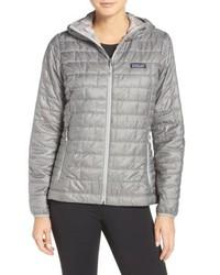 Nano puff hooded water resistant jacket medium 8800552