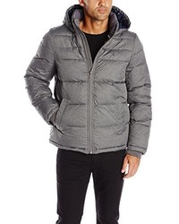 Tommy Hilfiger Ultra Loft Insulated Midlength Quilted Puffer Jacket With Fixed Hood