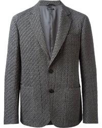 Quilt detailing classic cut blazer medium 145589
