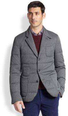 Slowear Quilted Blazer | Where to buy & how to wear : quilted blazer - Adamdwight.com