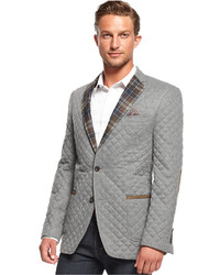 Tallia quilted lightweight slim fit blazer outerwear medium 130074