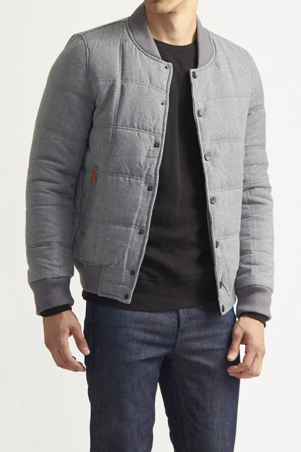 American Stitch Quilted Bomber Jacket | Where to buy & how to wear