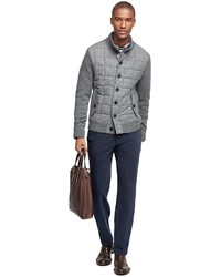 Brooks Brothers Lambswool Quilted Jacket