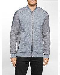 Calvin Klein Classic Fit Quilted Colorblock Bomber Jacket