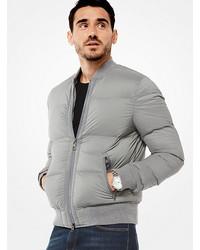 Michl kors quilted nylon bomber jacket medium 6794088