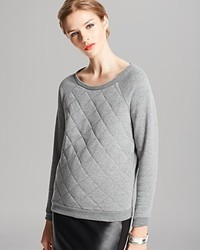 Alternative Sweatshirt Clark Raglan Quilted