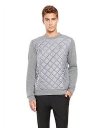 DKNY Quilted Sweatshirt