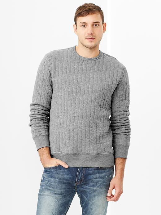Gap Heavy Quilted Sweatshirt | Where to buy & how to wear