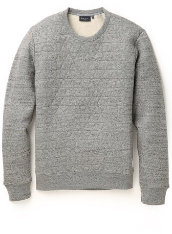 c814c2b995 $260, Paul Smith Jeans Quilted Sweatshirt