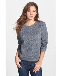 Halogen Quilted Sweatshirt