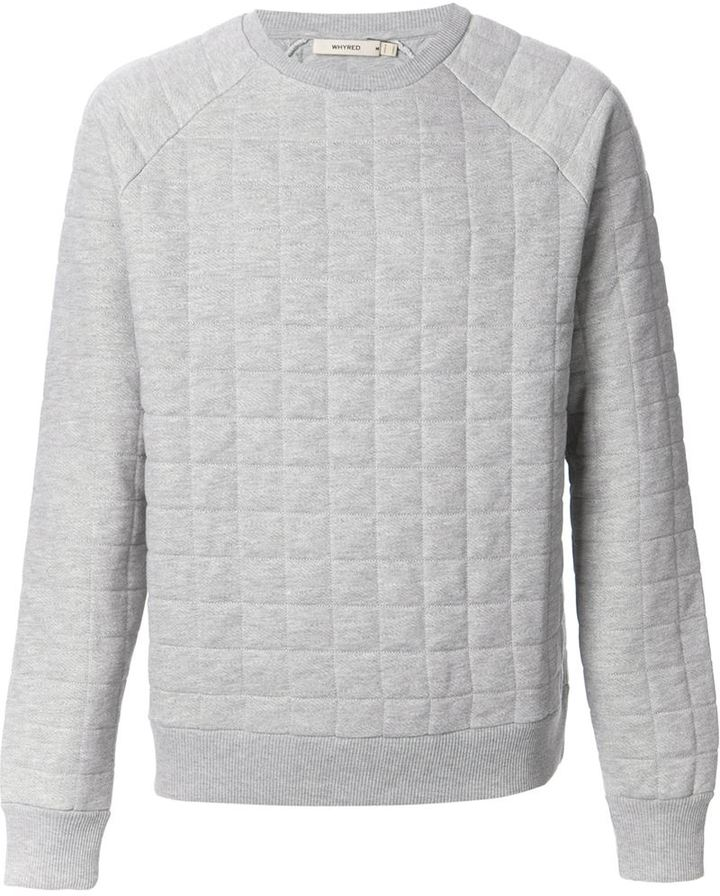 Sweaters Whyred Odom Quilted Sweatshirt