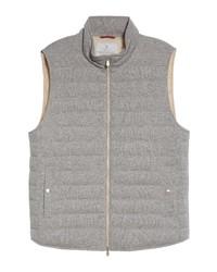 Brunello Cucinelli Cashmere Down Puffer Vest