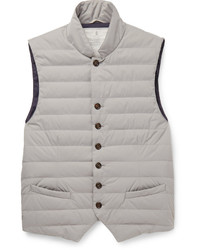 Brunello Cucinelli Water Resistant Shell Down Gilet