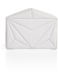 Vionnet Quilted Leather Box Clutch