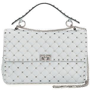 bf3766d33ebf ... Leather Crossbody Bags Valentino Garavani Rockstud Spike Medium Quilted Shoulder  Bag ...