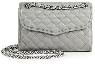 blue affair white s diamond product soft minkoff gunmetal quilted in shoulder gallery bags rebecca quilt sold mini lyst bag women bloomingdale at previously