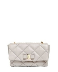 291b2aac9e ... Salvatore Ferragamo Gelly Quilted Nappa Leather Shoulder Bag