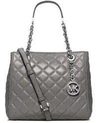 Michl michl kors susannah small quilted leather tote medium 621759
