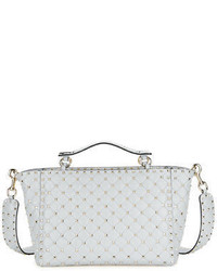 Rockstud spike large quilted leather tote bag medium 3749889