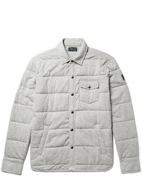 Polo Ralph Lauren Quilted Cotton Jersey Shirt Jacket