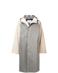MACKINTOSH Colour Block Hooded Coat
