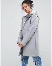 Asos Fleece Lined Raincoat