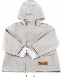 Lea Jojo Dove Grey Raincoat