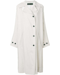 Haider Ackermann Long Buttoned Trench Coat