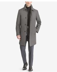 Calvin Klein Marquez Slim Fit Single Breasted Raincoat