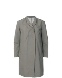 Transit Press Stud Lapel Raincoat