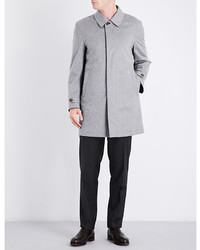 Canali Reversible Cashmere Raincoat