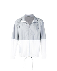 Z Zegna Two Tone Rain Jacket