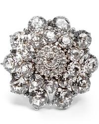 Oscar de la Renta Crystal Encrusted Ring