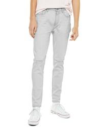 Topman Axl Ripped Skinny Jeans