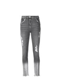 Philipp Plein Cropped Skinny Jeans