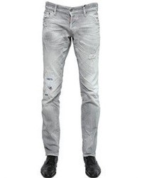 Men's Grey Ripped Jeans by DSquared | Men's Fashion